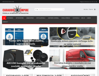 caraudioempire.com screenshot