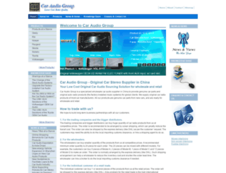 caraudiogroup.com screenshot