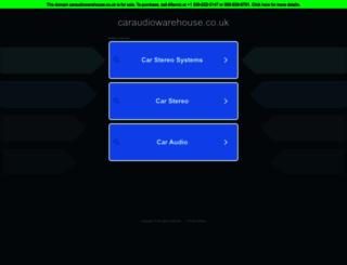 caraudiowarehouse.co.uk screenshot