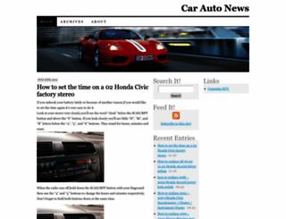 carautonews.com screenshot
