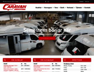 caravan.se screenshot
