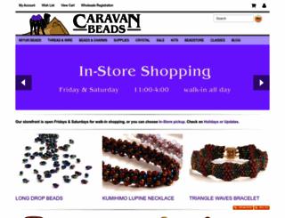 caravanbeads.net screenshot
