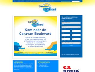 caravanboulevard.nl screenshot