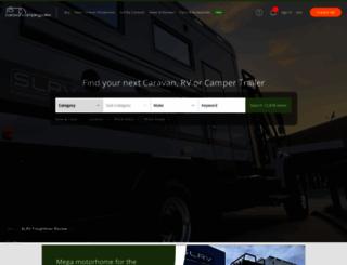 caravancampingsales.com.au screenshot