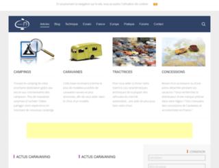 caravane-infos.net screenshot