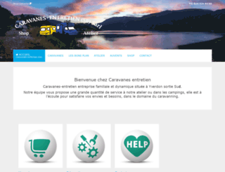 caravanes-entretien.ch screenshot