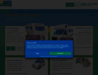 caravanguard.co.uk screenshot