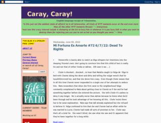 caraycaray.blogspot.com screenshot