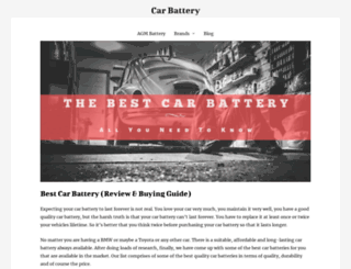carbatteryprices.org screenshot