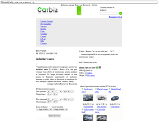 carbiz.ro screenshot