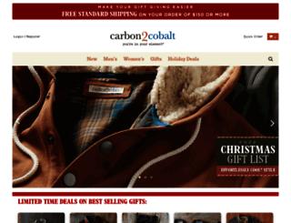 carbon2cobalt.com screenshot