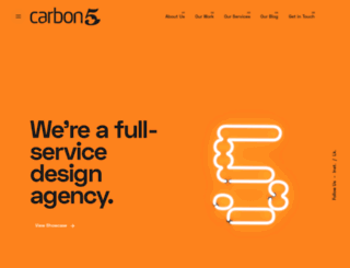 carbon5.com.au screenshot