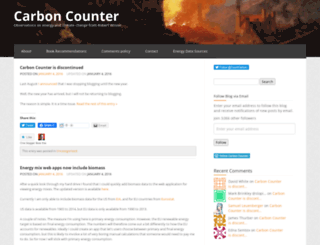 carboncounter.wordpress.com screenshot