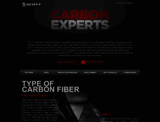 carbonexperts.scott-sports.com screenshot