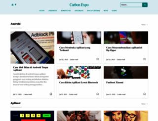 carbonexpo.com screenshot