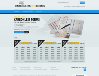 carbonlessncrforms.com screenshot