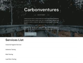 carbonventures.net screenshot