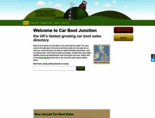 carbootjunction.co.uk screenshot