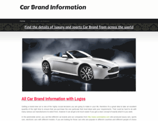 carbrands.webs.com screenshot