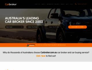 carbroker.com.au screenshot