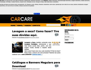 carcare.com.br screenshot