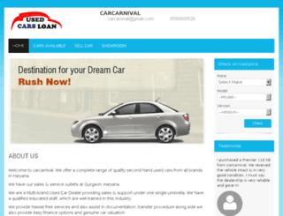 carcarnival.gaadi.com screenshot