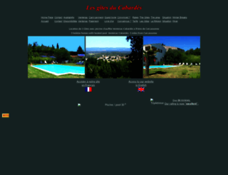 carcassonne-vacances.chez-alice.fr screenshot