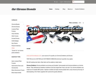 carchromedecals.com screenshot