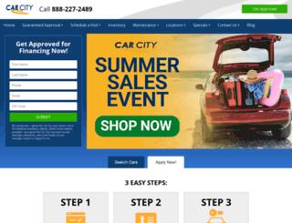 carcitysupercenter.com screenshot