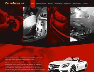 carclean.ro screenshot