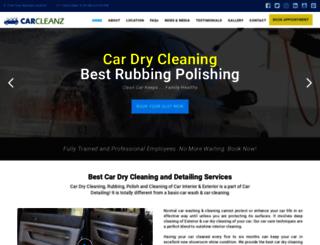 carcleanz.com screenshot