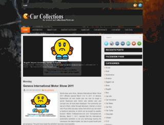 carcollectionsnews.blogspot.com screenshot