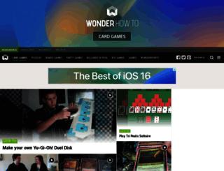 card-games.wonderhowto.com screenshot