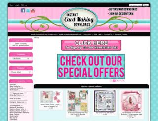 card-making-downloads.com screenshot