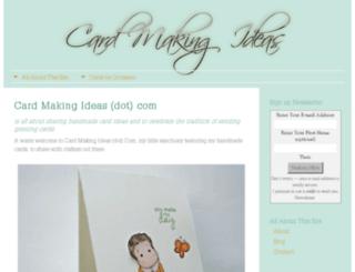 card-making-ideas.com screenshot