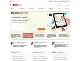card.dixipay.com screenshot