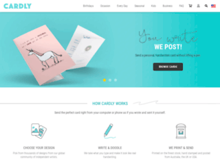 card.ly screenshot