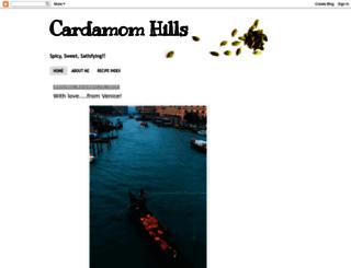 cardamomhills.blogspot.com screenshot