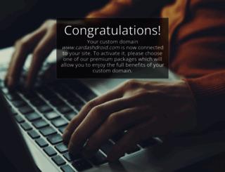 cardashdroid.com screenshot