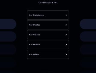 cardatabase.net screenshot