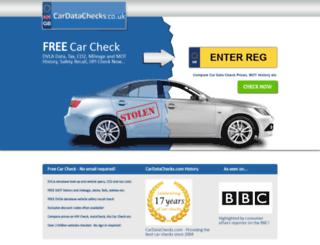 cardatachecks.co.uk screenshot