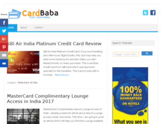 cardbaba.in screenshot
