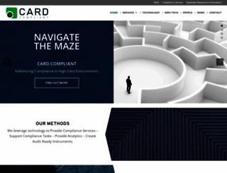 cardcompliant.com screenshot