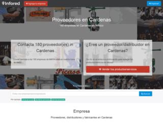 cardenas.infored.com.mx screenshot