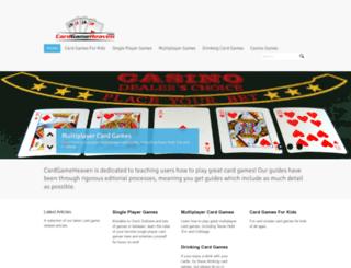 cardgameheaven.com screenshot