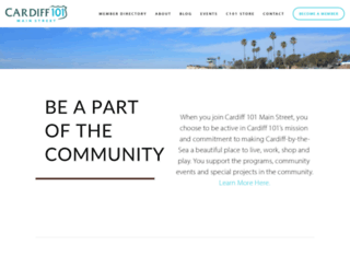 cardiff101.com screenshot