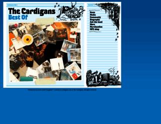 cardigans.com screenshot