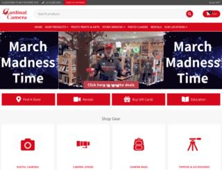 cardinalcamera.com screenshot