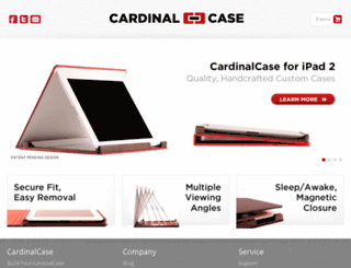 cardinalcase.com screenshot