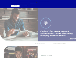 cardinalcommerce.com screenshot